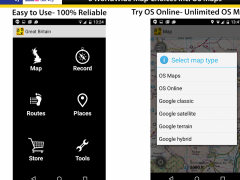 OutDoors GB - GPS with OS Maps 1.6.3 Screenshot
