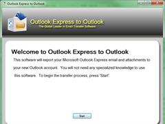 Outlook Express to Outlook 2.1.5.0 Screenshot