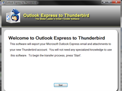 Outlook Express to Thunderbird 2.0.0.0 Screenshot