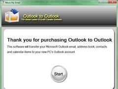 Outlook to Outlook 2.1.5.0 Screenshot