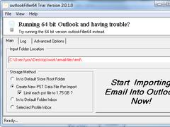 outlookFiller64 2.0.4 Screenshot