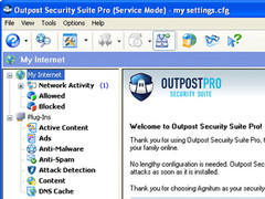 Outpost Security Suite Pro 2007 Screenshot