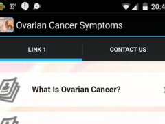 Ovarian Cancer Symptoms 1.0 Screenshot