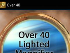 Over40 Magnifier & Flashlight 1.0 Screenshot