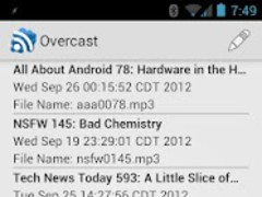 Overcast 1.6 Screenshot