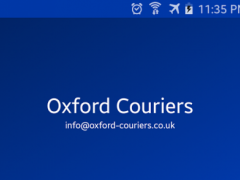 Oxford Couriers 1.0 Screenshot