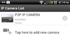 P2P IPCam_Lite 1.1.0.4 Screenshot
