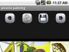 Pablo Picasso PaintingGallery 1.5 Screenshot