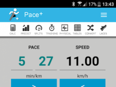 Pace Calculator [Pace+] 3.6 Screenshot