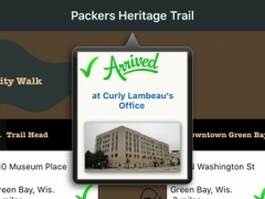 Packers Heritage Trail 1.0 Screenshot