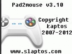 Pad2mouse 3.11 Screenshot