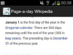 Today's Topic from Wikipedia 2.4 Screenshot