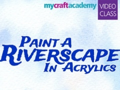 Paint a Riverscape in Acrylics 1.0 Screenshot