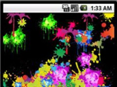 Paint Splash Livewallpaper 1.0.5 Screenshot