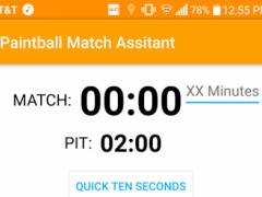 Paintball Match Assistant 1.11 Screenshot