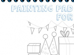 Painting Pad For Kids - awesome children coloring sketchpad 1.4 Screenshot