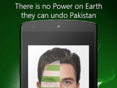 Pakistani Face Flag 1.0 Screenshot