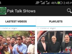 Pakistani TV News & Talkshows 1.0.0 Screenshot