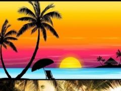 Palm tree. Live wallpapers 1.0 Screenshot