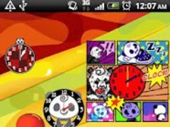 Panda Analog Clocks Widget 2.0.2 Screenshot