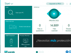 Panda Free Antivirus 2018 Screenshot