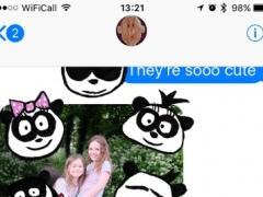 Panda Babies Stickers 1.0 Screenshot