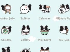 Panda Cafe icon theme 1.0 Screenshot