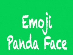 Panda Face Emoji - Sticker 1.0 Screenshot