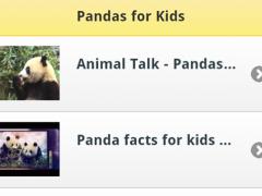Pandas for Kids 1.0 Screenshot