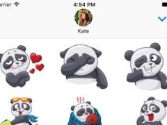 PandaS Stickers for iMessage 1.0 Screenshot