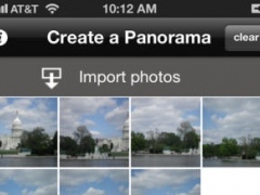 Panorama Mosaicker 4.4 Screenshot