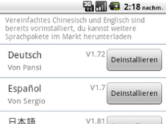 Easy SMS German language 1.8 Screenshot