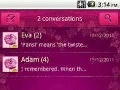 Easy SMS Valentine'sDay theme 1.0 Screenshot
