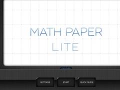 Panther Math Paper Lite 1.0.1 Screenshot