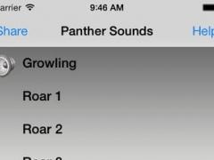 Panther Sounds 7.1.1 Screenshot