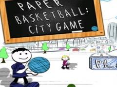 Paper Basketball: City Game Pro 1.0 Screenshot