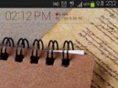 Papers Atom theme 1.2 Screenshot