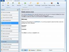 Paquet Builder 3.3.0.0 Screenshot