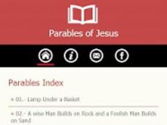 Parables of Jesus 1.1 Screenshot