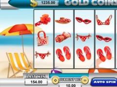 Paradise Slots Las Vegas Pokies - Ceasers Palace Classic Royal Grand Casino 1.0 Screenshot