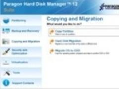 Paragon Hard Disk Manager Suite 12 Screenshot