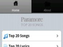 Paramore Songs 1.5 Screenshot
