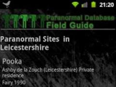 Paranormal Pro Field Guide 1.4 Screenshot