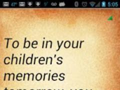 Parenting Quotes 3.6 Screenshot