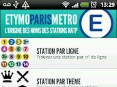 Paris Metro Etymology Lite 2.00 Screenshot