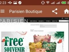 Parisien Butik 1.1 Screenshot