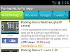 Parking Mania Fan App 1.02 Screenshot