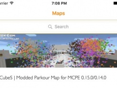 Parkour for Minecraft PE ( Pocket Edition ) + Download Best Maps for Minecraft PE 1.1 Screenshot