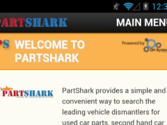 PartShark Car Parts & Spares 141024.1.0 Screenshot
