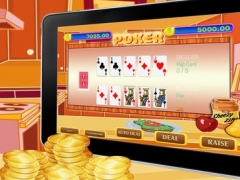 Party Food Poker - Greatest Prize and More! 1.0 Screenshot